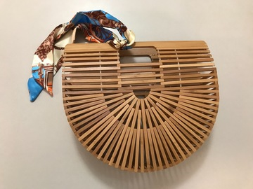 For Rent: Bamboo clutch