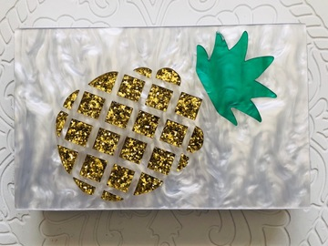 For Sale: Paradise Pineapple Clutch