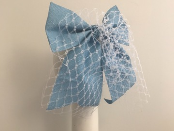 For Sale: Baby blue bow