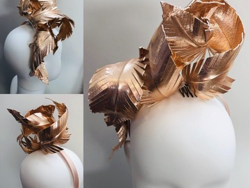 For Rent: Rose Gold Leather Headband